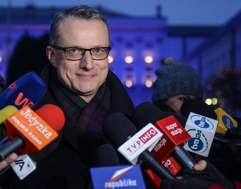 Szef prezydenckiego biura prasowego Marek Magierowski /Jakub Kamiński   /PAP