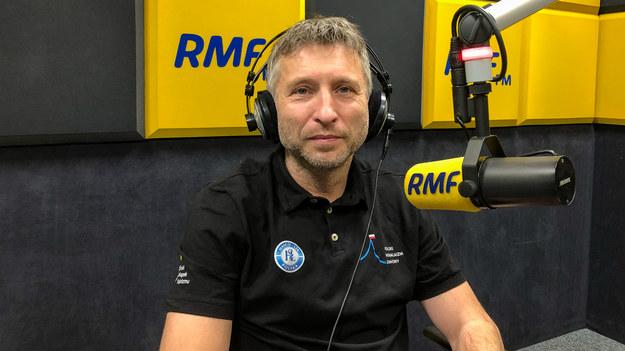 Szef programu Polski Himalaizm Zimowy Piotr Tomala /Michał Dukaczewski /RMF FM
