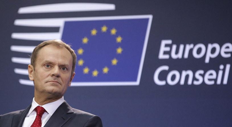 Szef Rady Europejskiej Donald Tusk /PAP/EPA