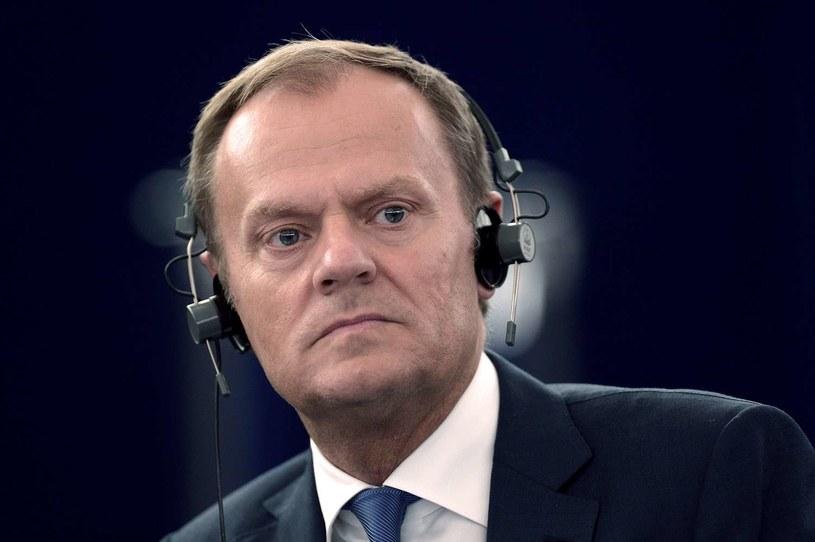 Szef Rady Europejskiej Donald Tusk /AFP