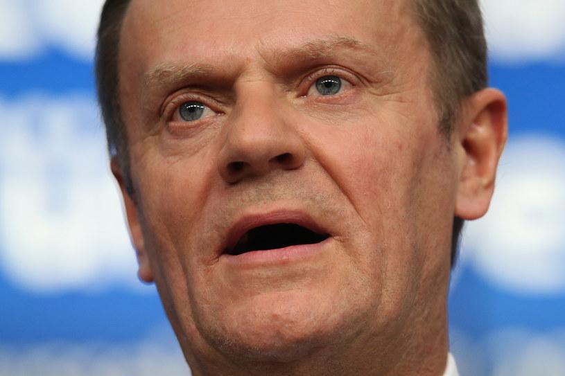 Szef Rady Europejskiej Donald Tusk /Getty Images