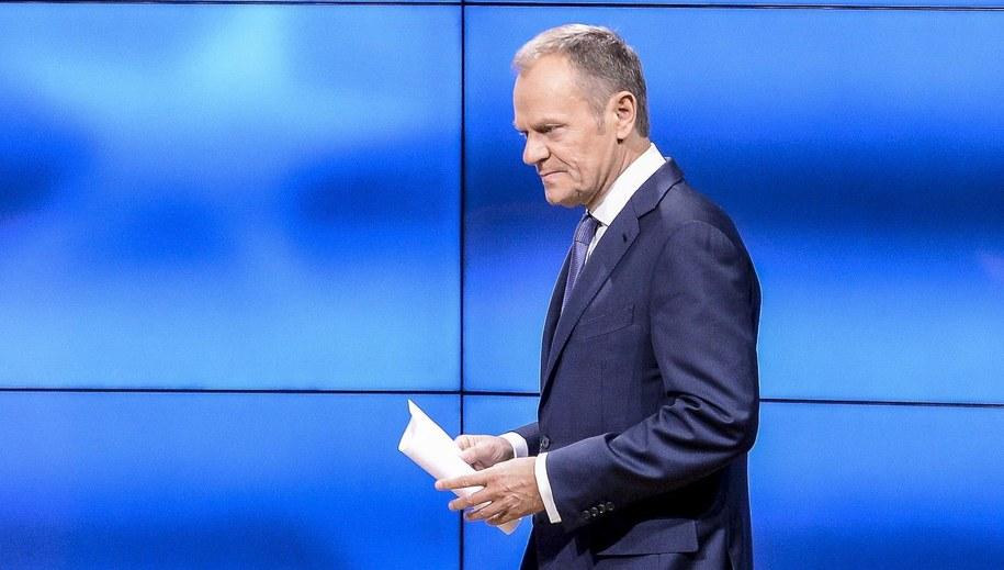 Szef Rady Europejskiej Donald Tusk /Wiktor Dabkowski    /PAP