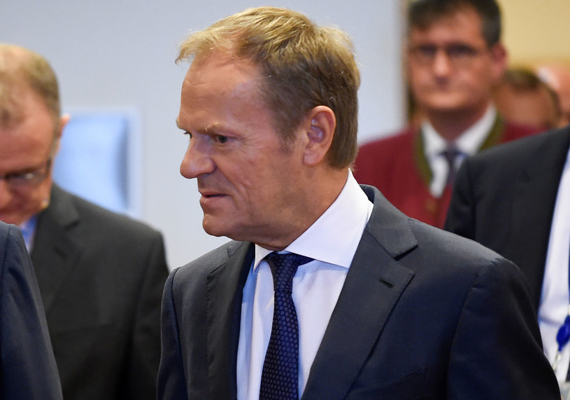 Szef Rady Europejskiej Donald Tusk /JOHN THYS /AFP