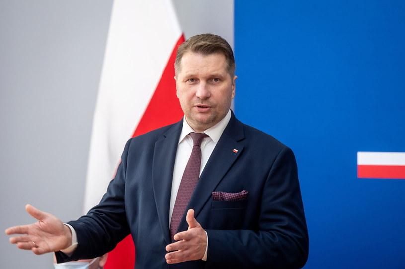 Szef resortu edukacji i nauki Przemysław Czarnek /Tytus Żmijewski /PAP