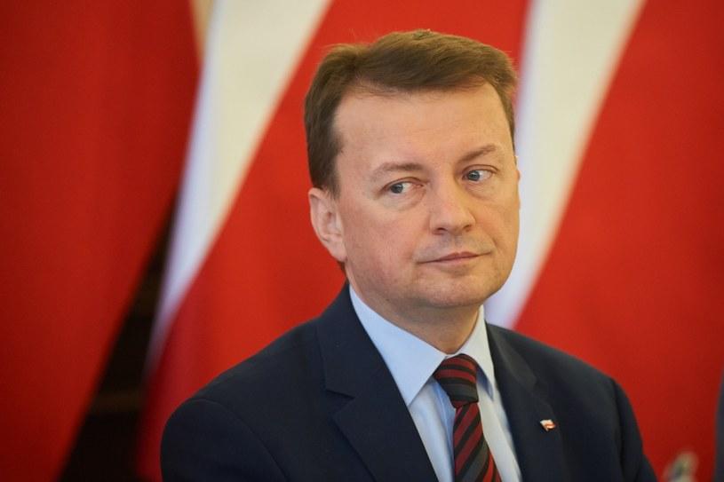 Szef resortu spraw wewnętrznych Mariusz Błaszczak /Lukasz Szelag /Reporter