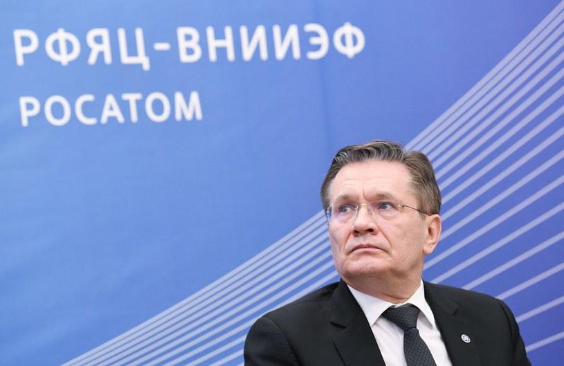 Szef Rosatomu Aleksiej Lihaczew. /AFP