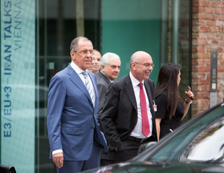 Szef rosyjskiej dyplomacji na rozmowach ws. Iranu /GEORG HOCHMUTH /PAP/EPA