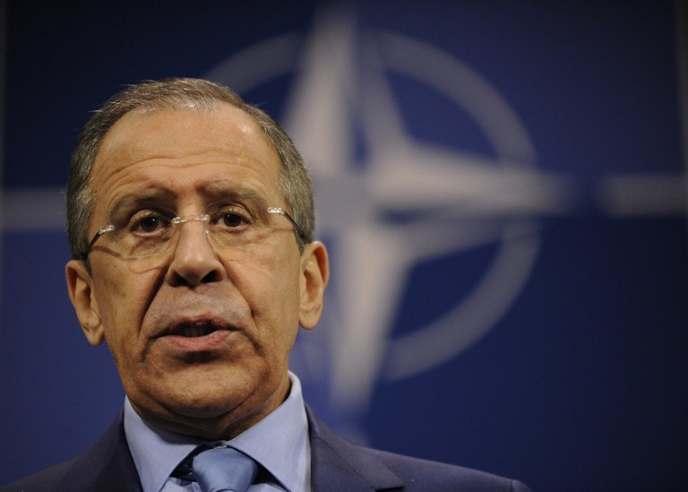 Szef rosyjskiej dyplomacji Siergiej Ławrow /AFP