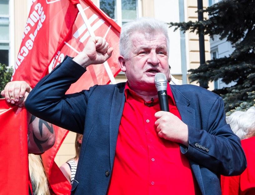 Szef Ruchu Sprawiedliwości Społecznej Piotr Ikonowicz /Robert Ostrowski /East News
