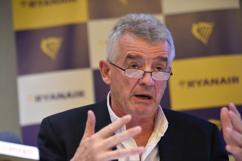 Szef Ryanaira Michael O'Leary / fot. Zbyszek Kaczmarek/REPORTER  /East News