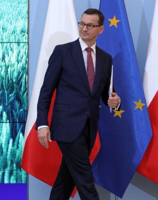 Szef rządu Mateusz Morawiecki /Tomasz Gzell   /PAP