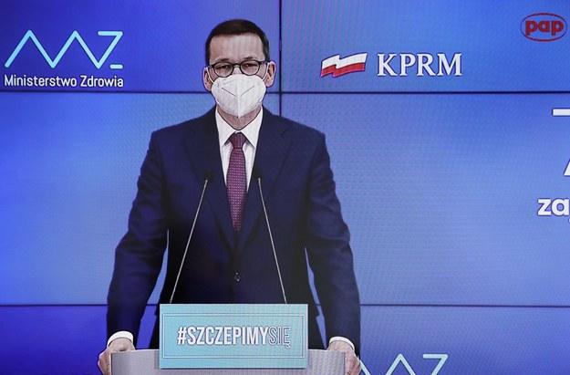 Szef rządu Mateusz Morawiecki /Paweł Supernak /PAP