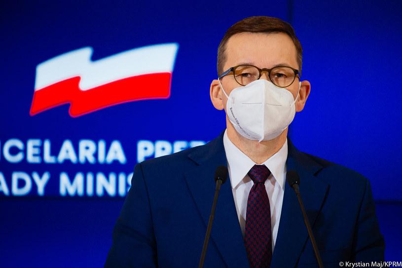 Szef rządu Mateusz Morawiecki /KPRM/Krystian Maj /