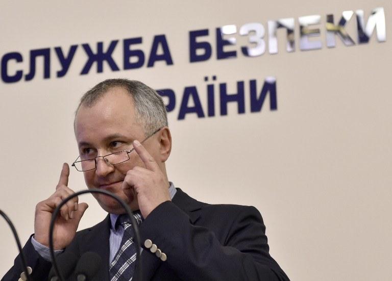 Szef SBU  Vasyl Grytsak /AFP