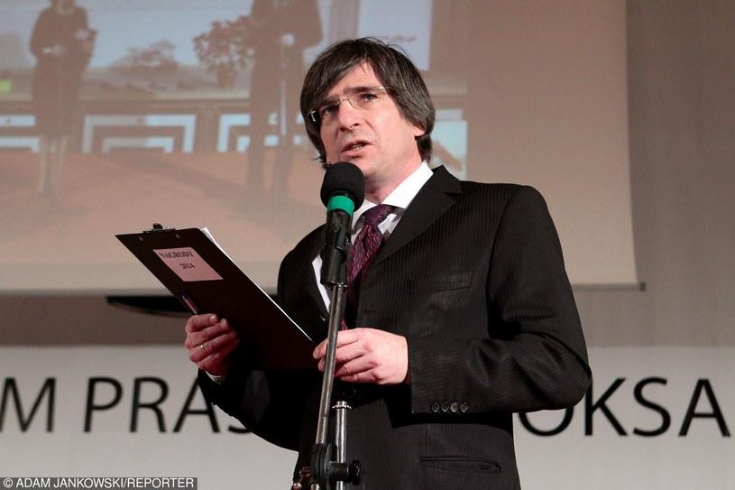 Szef SDP Krzysztof Skowroński /Adam Jankowski /Reporter