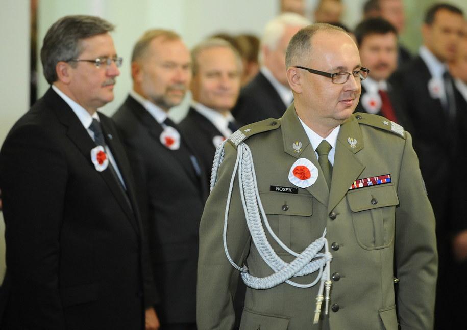 Szef Służby Kontrwywiadu Wojskowego gen. Janusz Nosek /Jacek Turczyk /PAP