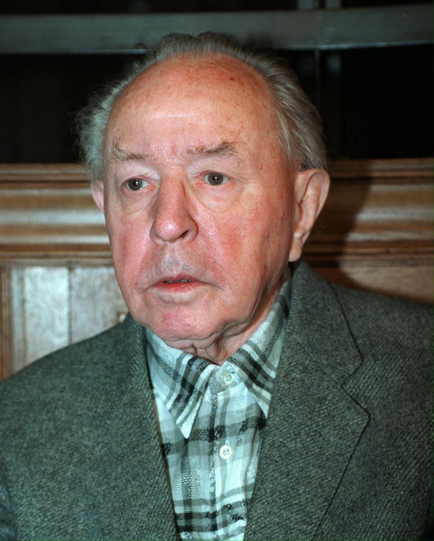 Szef Stasi Erich Mielke, zdj. z 1994 / ANDREAS ALTWEIN    /PAP/EPA