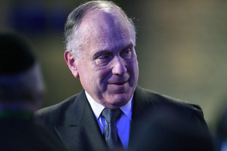 Szef Światowego Kongresu Żydów (WJC) Ronald Lauder /AFP
