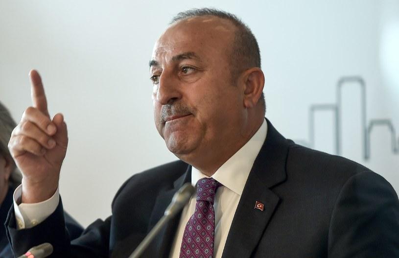Szef tureckiego MSZ Mevlut Cavusoglu /AFP