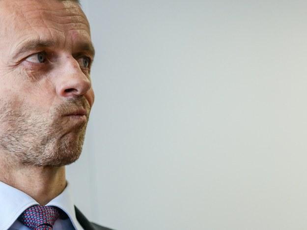 Szef UEFA Alexander Ceferin /STEPHANIE LECOCQ  /PAP/EPA