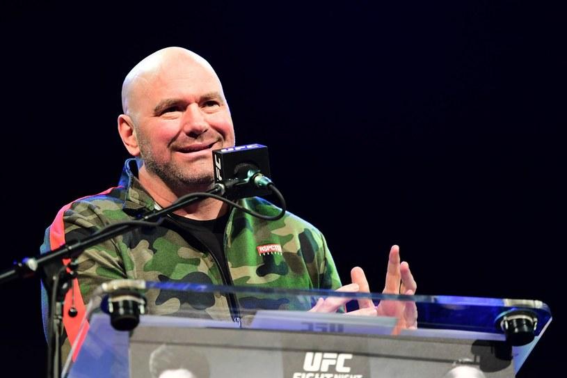 Szef UFC Dana White /AFP