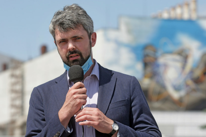 Szef ukraińskiego IPN Anton Drobowycz /Agencja FORUM