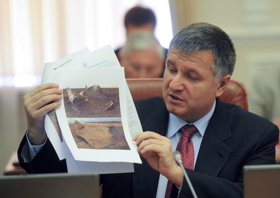 Szef ukraińskiego MSW /ANDRIY KRAVCHENKO/POOL   /PAP/EPA