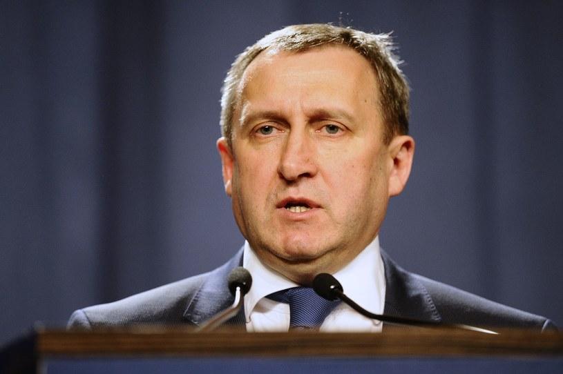 Szef ukraińskiego MSZ Andrij Deszczyca /AFP