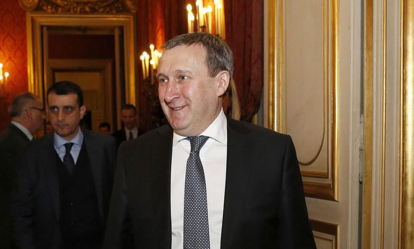 Szef ukraińskiej dyplomacji Andrij Deszczyca. /AFP