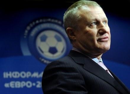 Szef ukraińskiej piłki - Grigory Surkis /AFP