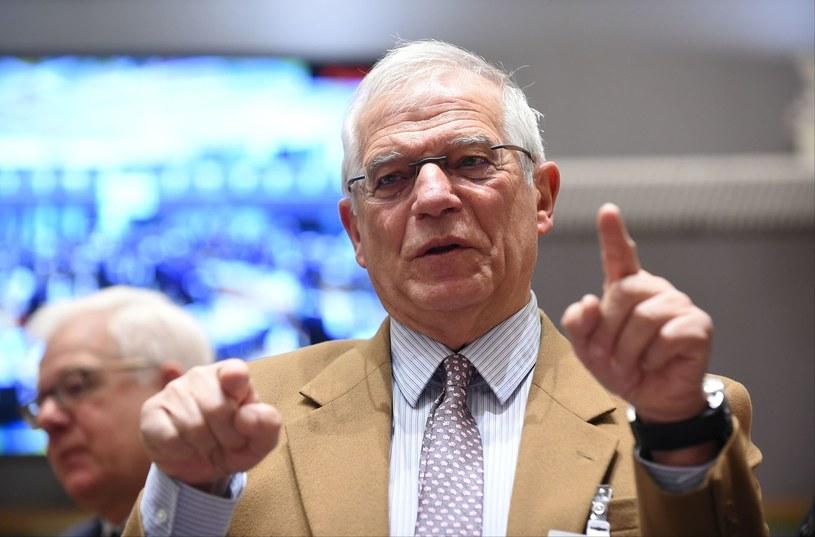 Szef unijnej dyplomacji Josep Borrell /JOHN THYS /AFP