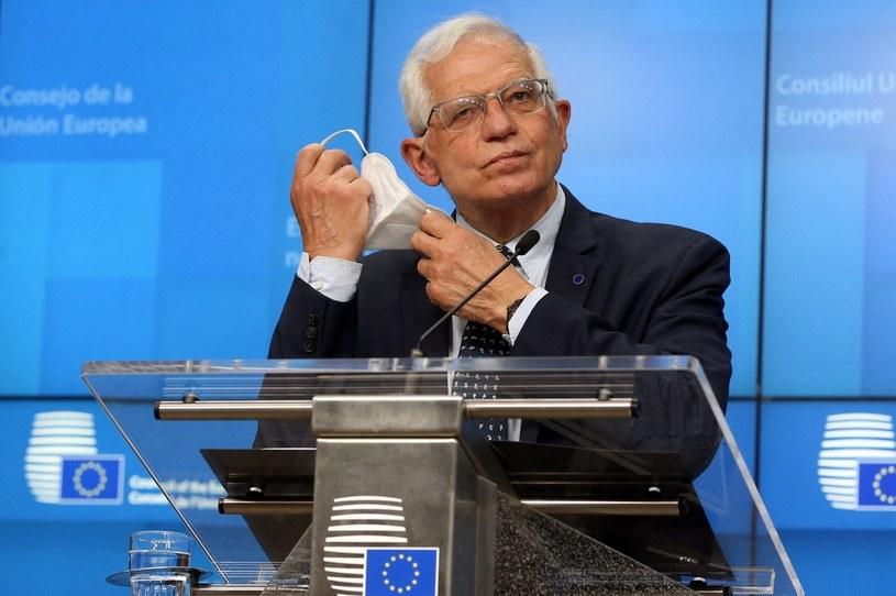 Szef unijnej dyplomacji Josep Borrell /AFP