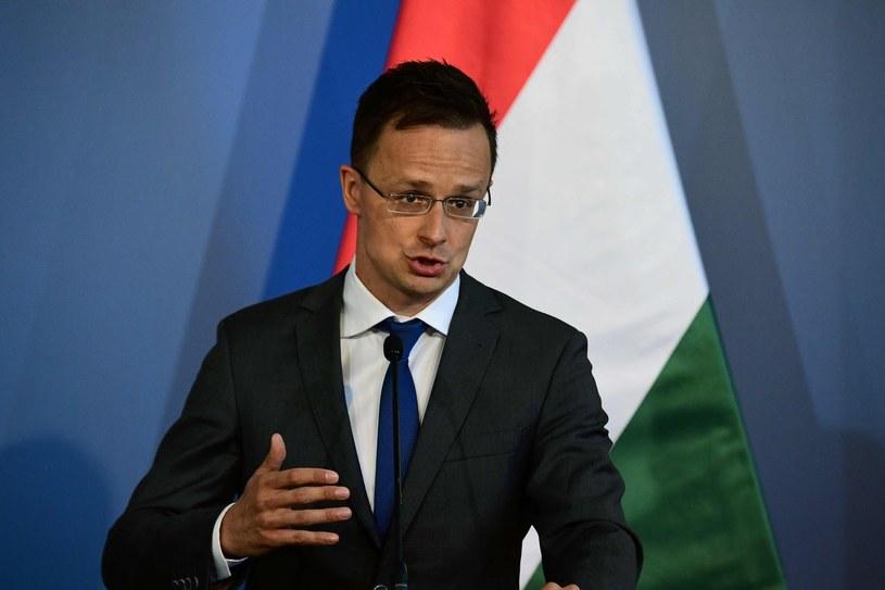 Szef węgierskiej dyplomacji Peter Szijjarto /AFP