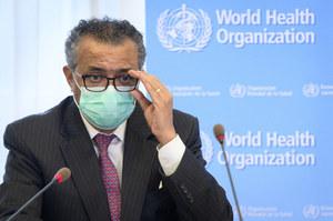 Szef WHO: Koronawirus wyprzedza szczepienia