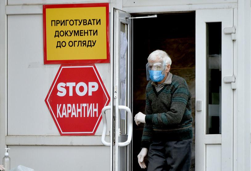 Szef WHO na Ukrainie: Sytuacja wokół COVID-19 poważna, w szpitalach brakuje personelu /SERGEI SUPINSKY /AFP