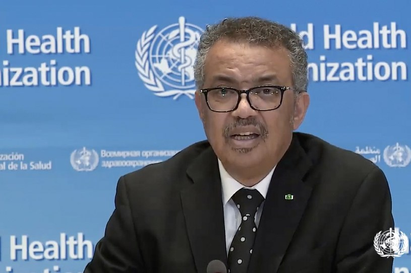Szef WHO, Tedros Adhanom Ghebreyesus /AFP