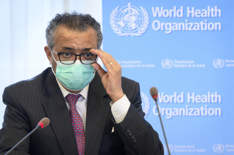 Szef WHO Tedros Adhanom Ghebreyesus /AFP