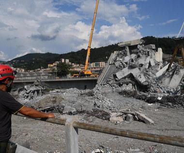 Szef zarządcy autostrad przeprasza po tragedii w Genui