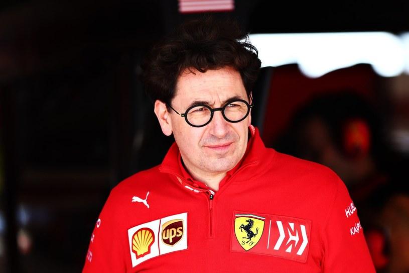 Szef zespołu Ferrari Mattia Binotto /AFP