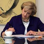 """Szefowa brytyjskiego rządu Theresa May pojawi się na okładce """"Vogue'a""""!"""