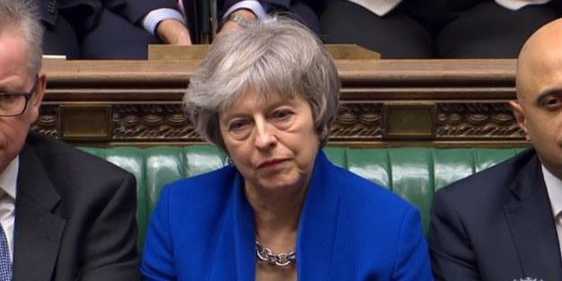 Szefowa brytyjskiego rządu Theresa May /PARLIAMENTARY RECORDING UNIT HANDOUT /PAP/EPA