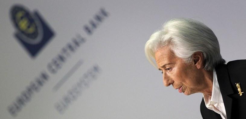 Szefowa EBC o obawach zwiazanych z koronowirusem /AFP