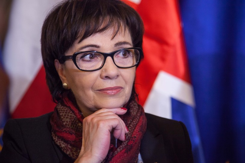 Szefowa gabinetu politycznego premier Elżbieta Witek krytykuje Donalda Tuska /Dominika Zarzycka /East News
