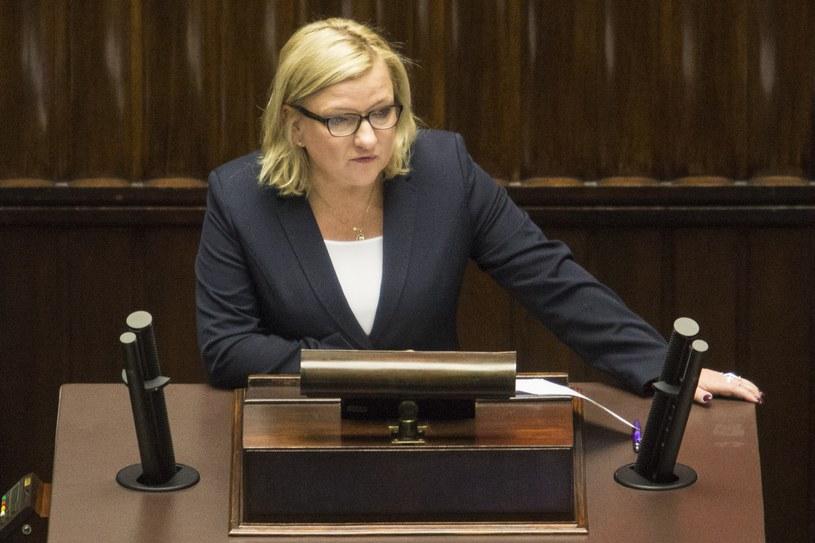 Szefowa Kancelarii Prezesa Rady Ministrów Beata Kempa /Andrzej Hulimka  /Reporter