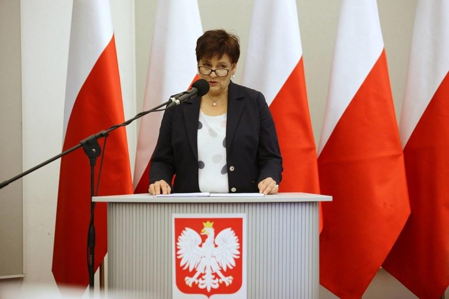 Szefowa Kancelarii Prezydenta Halina Szymańska / Lech Muszyński    /PAP