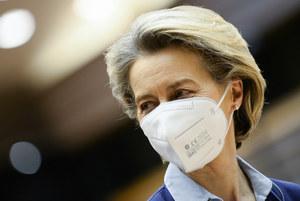 Szefowa KE Ursula von der Leyen wzywa kraje produkujące szczepionki, by nie blokowały eksportu