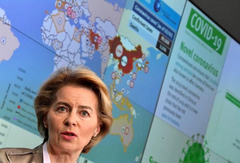 Szefowa KE Ursula von der Leyen /JOHN THYS / AFP /AFP