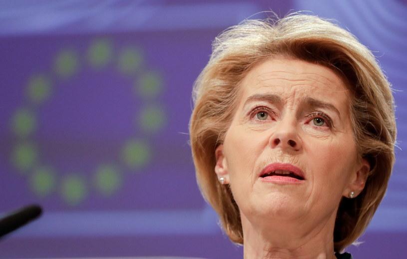 Szefowa KE Ursula von der Leyen /STEPHANIE LECOQUE  /PAP/EPA