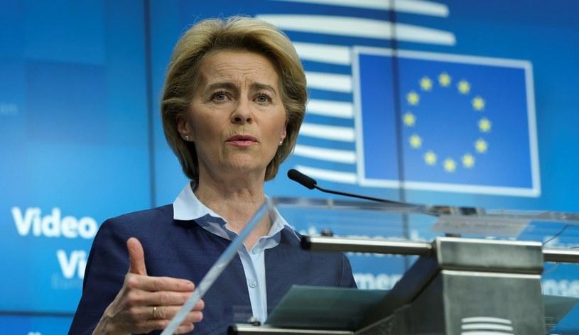 Szefowa KE Ursula von der Leyen /AFP