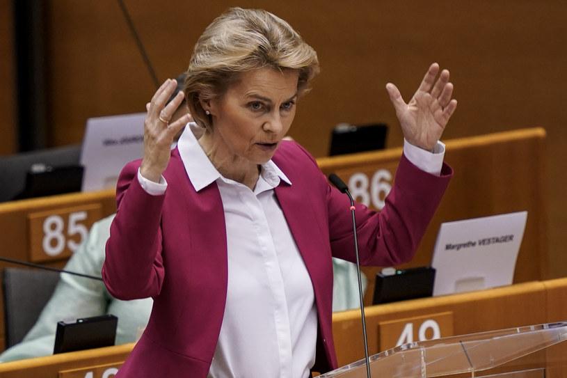 Szefowa KE Ursula von der Leyen /KENZO TRIBOUILLARD /AFP